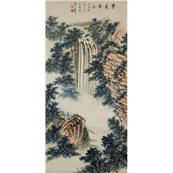 Attr. HUANG JUNBI Chinese 1898-1991 Watercolor