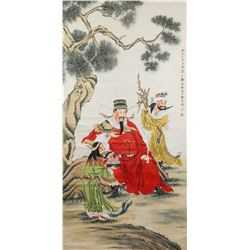 Attr. ZHENG MUKANG Chinese 1901-1982 Watercolor