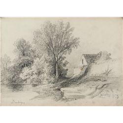 Attr. CHARLES-FRACOIS DAUBIGNY French 1817-1878