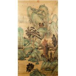 After GAO FENGHAN Chinese 1683-1749 Watercolor