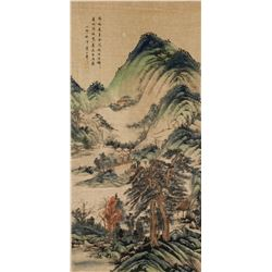 Attr. HUANG SHANSHOU Chinese 1855-1919 Watercolor
