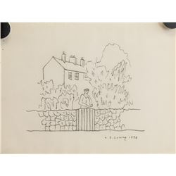 Attr. L. S. LOWRY British 1887-1976 Graphite