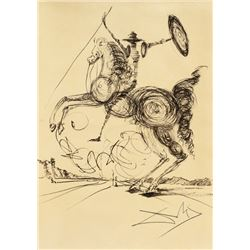 Attr. SALVADOR DALI Spanish 1904-1989 Ink