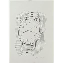 Attr. ROY LICTHENSTEIN American 1923-1997 Ink