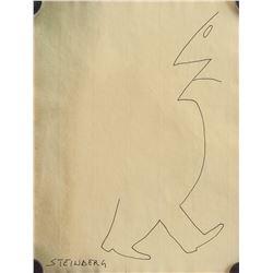 Attr. SAUL STEINBERG US 1914-1999 Ink on Paper