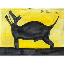 Attr. RUFINO TAMAYO Mexican 1899-1991 Watercolor