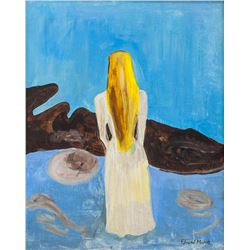 Manner of EDVARD MUNCH Norwegian 1863-1944 Acrylic