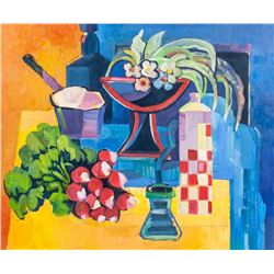 ALEX KORENFELD Canadian Oil on Canvas Still Life