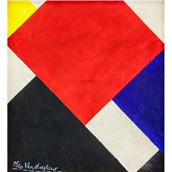 Manner of THEO VAN DOESBURG Dutch 1882-1931 OOC