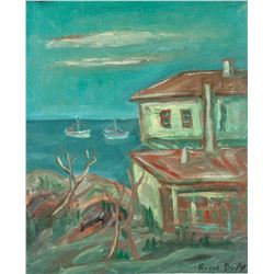 Attr. RAOUL DUFY French 1877-1953 Oil on Canvas