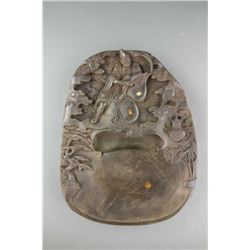 Chinese Ji Gong Ink Stone with Mark