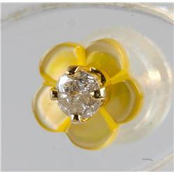 0.10ct Diamond Pearl 2-in-1 Earrings RV $400
