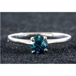0.55ct Blue Diamond Ring CRV $3300