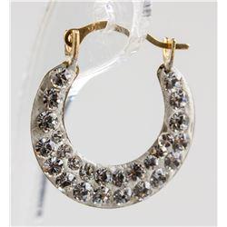 10k Hoop Earrings RV $240