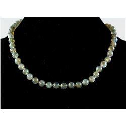 Large Labradorite Pearl Necklace RV $800