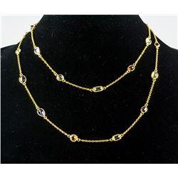 Multi-gem Necklace RV $300