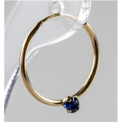 0.15ct Sapphire Earrings RV $240