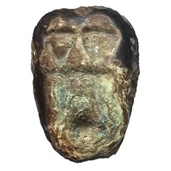 400-220 BC Shang Dynasty Ghost Face Money H 1.4