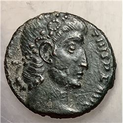 337-361 Roman Empire Constantius II Bronze Coin