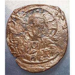 1059-1067 Byzantine Constantine X Copper Follis