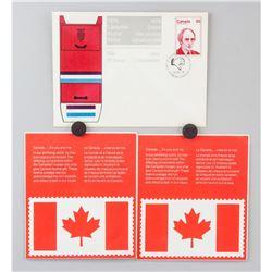 Canadian Postal Strike Stamp Blocks/Novelty 3 PC
