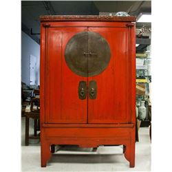 Early 20th Century Korean Tansu Storage Cabinet