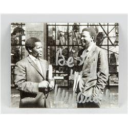 Autographed NELSON MANDELA Photograph COA