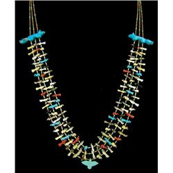 Pueblo Fetish Necklace