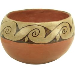 Maricopa Pottery Bowl - Vesta Bread (1912-1973)