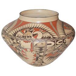 Large Hopi Pottery Jar - Robert Silas Poleahla