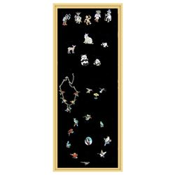 Zuni Inlay Jewelry Display