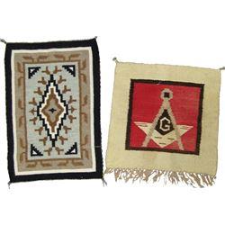 2 Navajo Rug/Weavings