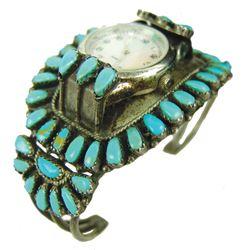 Navajo/Zuni Watch Bracelet - GM
