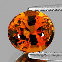 Natural AAA Vivid Orange Tourmaline 1.10 Ct- Flawless