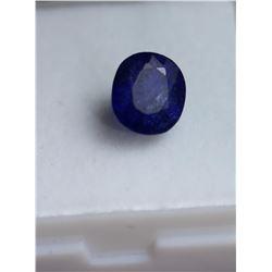 Natural Vivid Blue Sapphire 3.22 carats