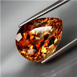 Natural Imperial  Champagne Topaz 18.58 Ct