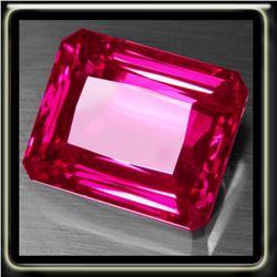 Natural Hot Pink Topaz  20.98 Carats - VVS