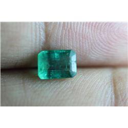 Natural Emerald 1.08 Carats - no Treatment