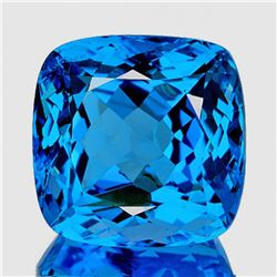 Natural Magnificent Swiss Blue Topaz 31.24 Ct - FL