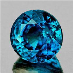 NATURAL GREENISH BLUE SAPPHIRE 1.25 Ct - FL