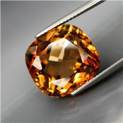Natural  Cushion Peach Champagne Topaz 15.23 Ct
