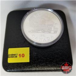 Canada Silver Dollar - Proof : 1981