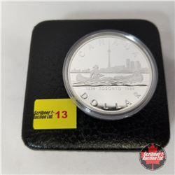 Canada Silver Dollar - Proof : 1834-1984 Toronto