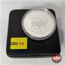 Canada Silver Dollar - Proof : 1885-1985 National Parks