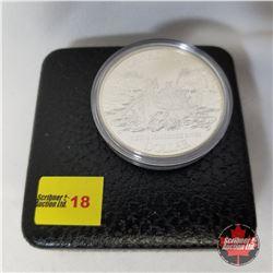 Canada Silver Dollar - Proof : 1989 Fleuve Mackenzie River