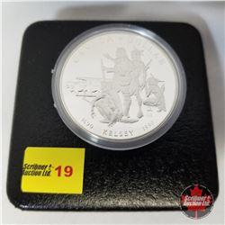 Canada Silver Dollar - Proof : 1690-1990 Kelsey