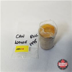 Canada Loonie ROLL 1995