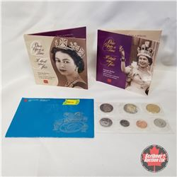 """2002 RCM Grouping (3 Items): 2002 Uncirculated Set Special Edition; """"Once Upon a Time"""" Keepsake Book"""
