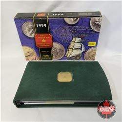 """RCM Specimen Set 1999 Proof Set 1774-1999 """"225th Anniversary of the Voyage of Juan Perez and the Sig"""