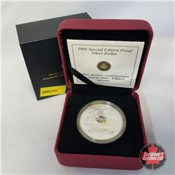 """RCM 2008 Special Edition Proof Silver Dollar """"Celebrating 100 Years""""  COA #04229/25000"""